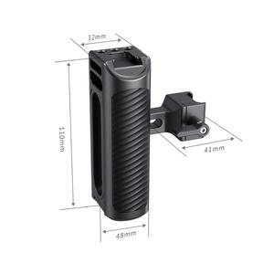 Image 2 - SmallRig Aluminum NATO Side Handle For Universal Camera Cage Featuring Nato Rail On The Side DSLR Camera Handle Handgrip  2427