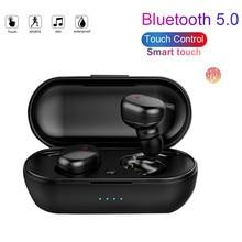 Y30 tws bluetooth5.0 sem fio fone de ouvido com cancelamento de ruído fone estéreo música som in-ear fones para android ios telefone inteligente