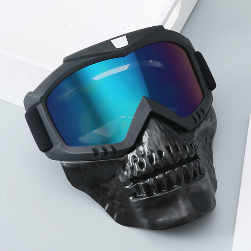 Newest Military Paintball Mask with Detachable Goggles Outdoor Hunting Sports Protecion Mask Tactical Shooting Mask Goggles