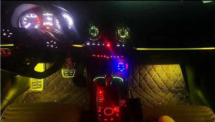 Led Ambient Light Interior Door Trim Light Bar Led Atmosphere Light For Audi A3 S3 Audi A3 8v Aliexpress