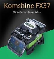 FTTX Fiber Optical Welder Machine Komshine FX37 Optical Fiber Fusion Splicer Kit with FIS Drop Cable Stripper Kevlar Shears