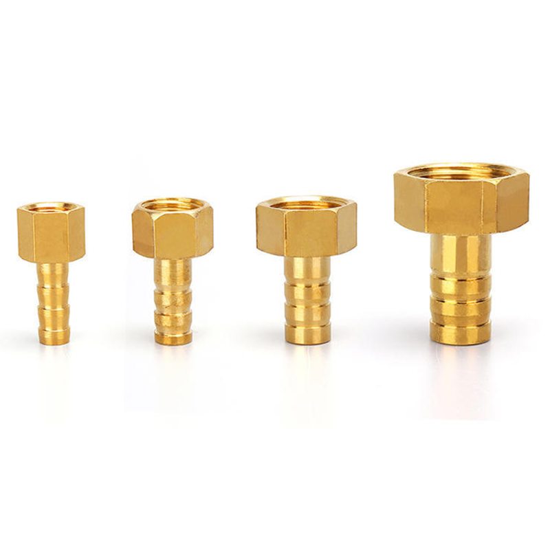 Tower type Brass Hose Fitting 4mm-19mm Barb Tail 1/8