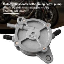 Vakuum Schalter Gas Motorrad Benzin Pumpe selbstansaugende Für Moped Roller Petcock Kraftstoff
