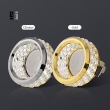 Decoration Crystal Ceiling lights Led downlight  5W 7W Warm/natural White for Corridors living room led gu10 indoor lighting