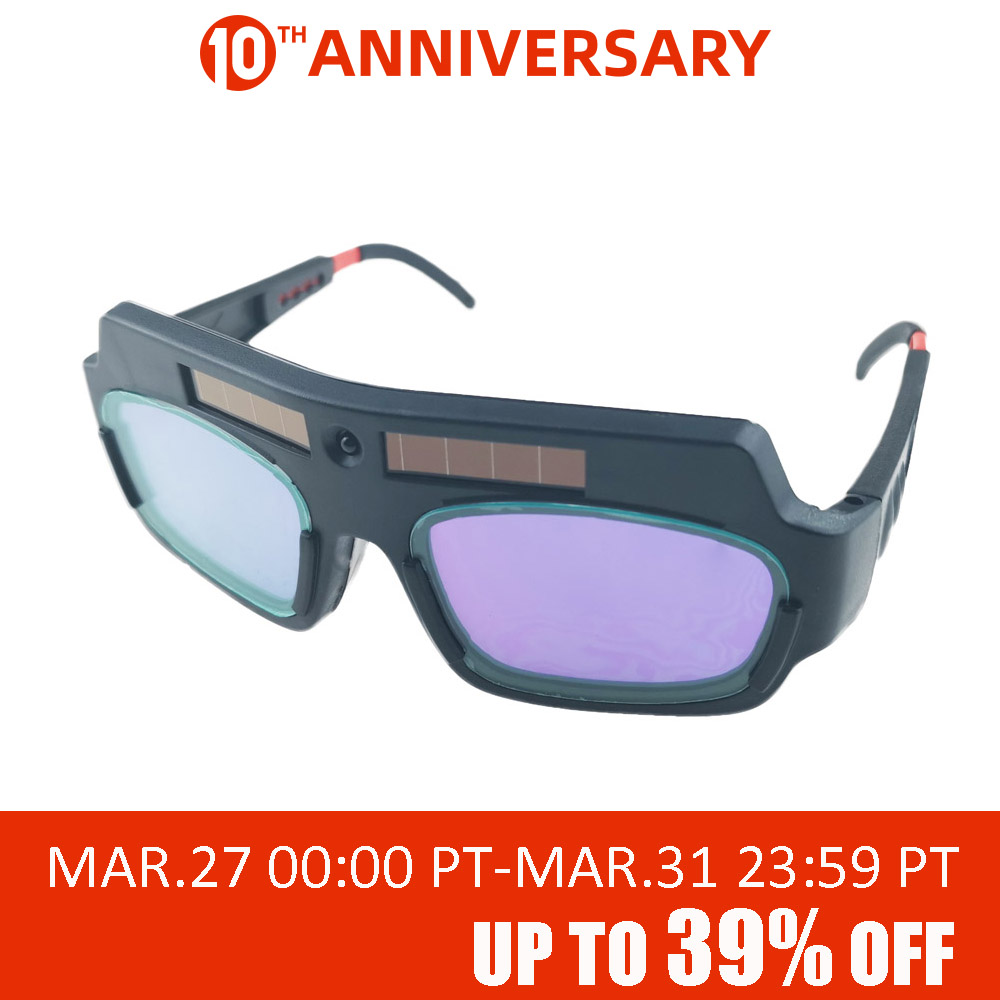 ALLSOME Solar Auto Darkening Eyes Mask Welding Helmet Welding Mask Eyeshade/Patch/Eyes Goggles For Welder Eyes Glasses HT1588