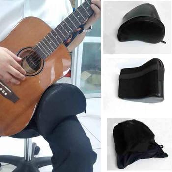 Esponja de cuero para el resto de la guitarra práctica utilidad Accesorio de Guitarra correa de pie soporte de cuello para guitarra clásica y popular nuevo N