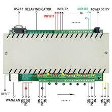 Niveau industriel qualité 4 8 16 32 CH Module domotique intelligent contrôleur système de commutation télécommande http APP PC Domotica