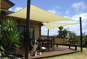 Toldo HDPE de vela de sombra hecho a medida, toldo de red de alta densidad grueso para exteriores, toldo Anti Uv apto para balcón, jardín, patio