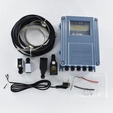 Ультразвуковой расходомер жидкости rs485 modbus tds 100f настенный