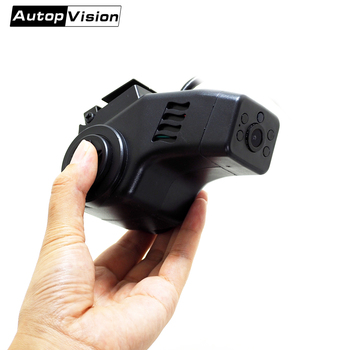 Front and rear dual cameras AHD Vehicle  incar night vision dome security Camera with for Bus Truck Car taxi DVR