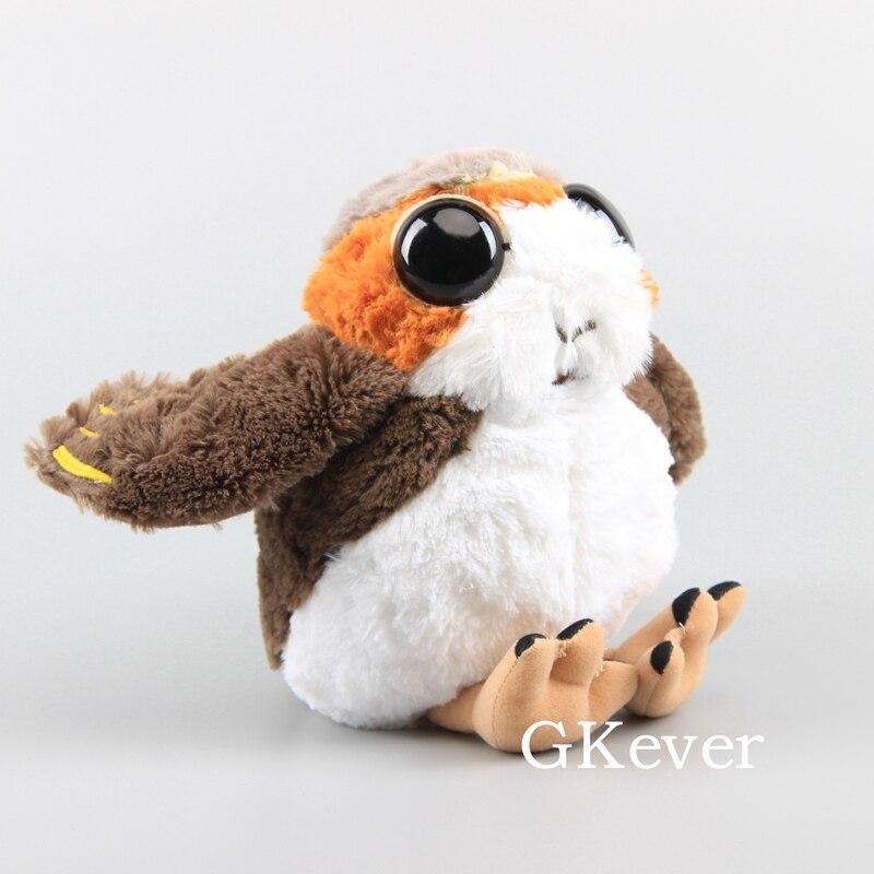 Star Wars The Last Jedi Porglet Bird Plush Doll PORG Stuffed Toy 10''  Children Lovely Gift