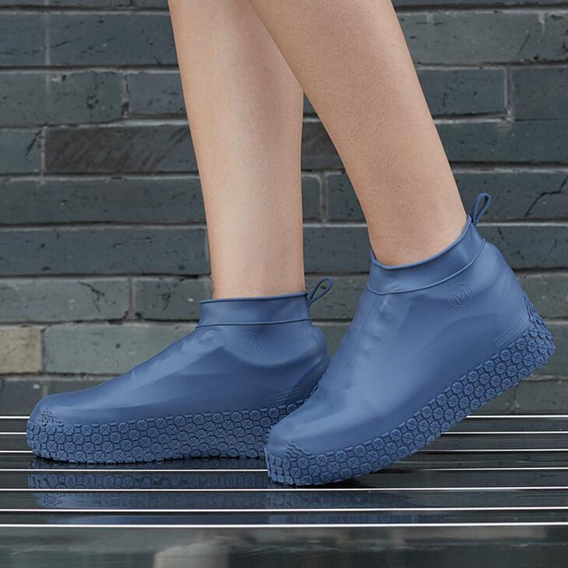 Boots Waterproof Shoe Cover Silicone Material Unisex Shoes Protectors Rain Boots for Indoor Outdoor Rainy Days Reusable
