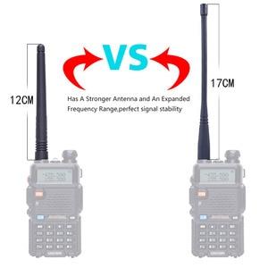 Image 4 - BaoFeng VHF UV 5R/UHF136 174Mhz & 400 520Mhz Dual Band Walkie Talkie rádio em Dois sentidos Baofeng Handheld UV5R CB Rádio Amador Portátil