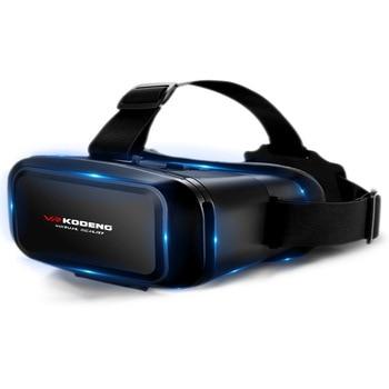 цены Original 3D Virtual Reality VR Glasses Support 0-600 Myopia Binocular 3D Glasses Headset VR for 4-7 Inch IOS Android Smartphone