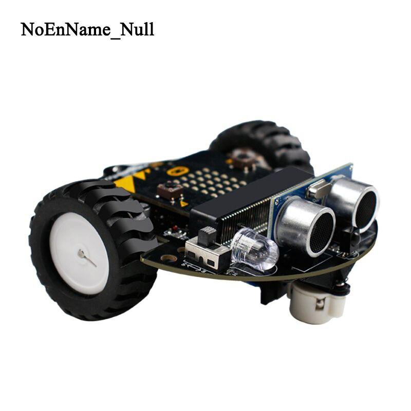 1Set Micro:bit Graphical Programming Robot Mobile Platform Smart Car V4.0 Support Line Patrol Ambient Light Accessories