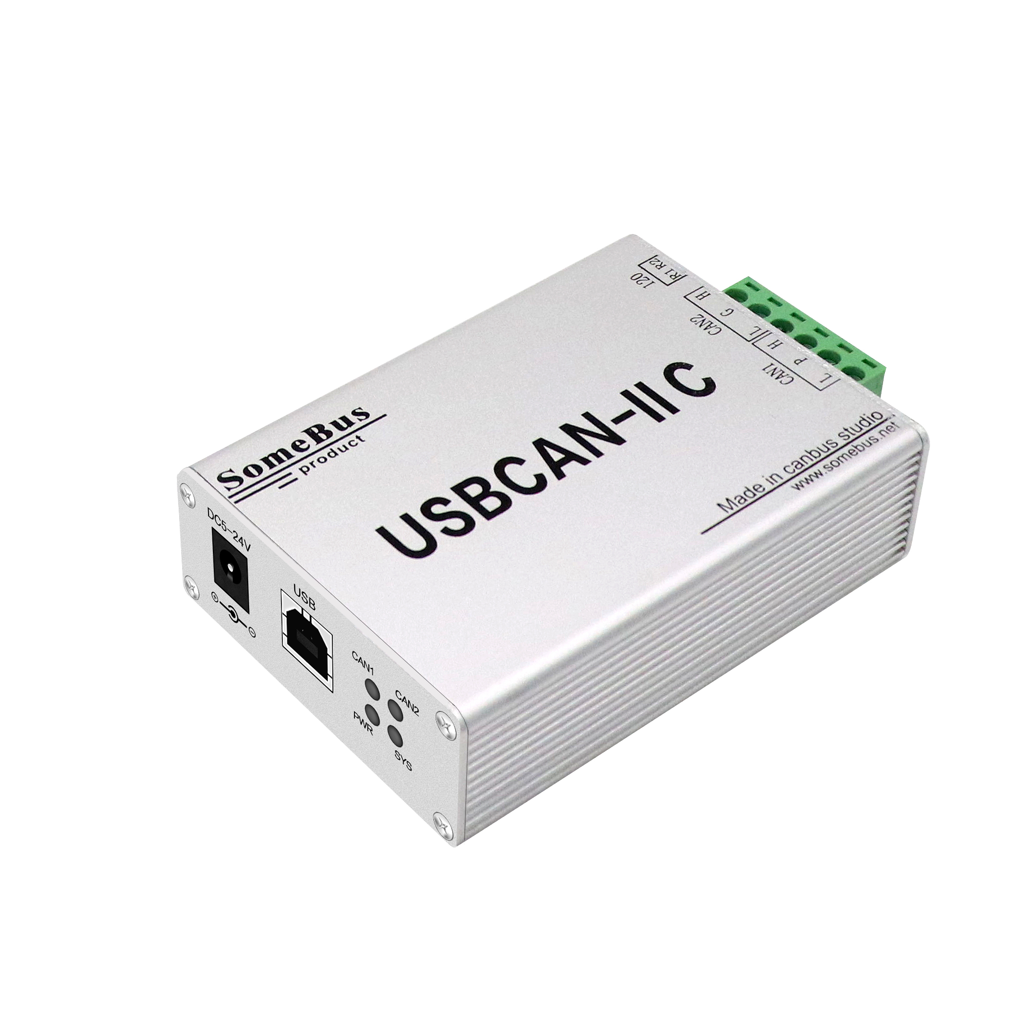 CAN To USB Interface For Engineer CAN Analyzer Dual Channels Are Used For Data Reception, Transmission And Detection.