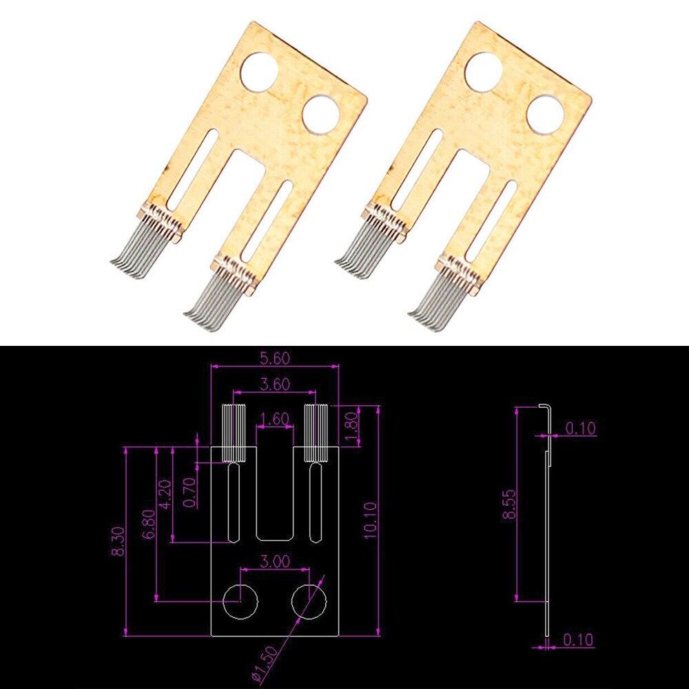 2x Steering Column Switch Angle Sensor Contact Brush Repair Kit For BMW E65 E66 Car Carbon Brush Repair Tool