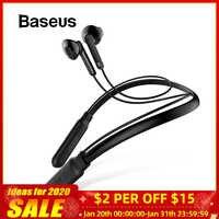 Baseus s16 bluetooth fone de ouvido sem fio neckband esporte handsfree earbud bluetooth 5.0 fones para fone de ouvido