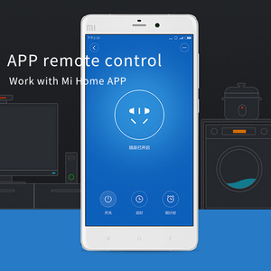 Image 4 - Xiaomi Mi умная розетка Mijia умная домашняя вилка wifi или Bluetooth версия приложения дистанционное управление Обнаружение мощности работа с приложением Mi home
