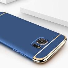 Luxury Gold Hard Case for Samsung Galaxy M10 M20 M30 M40 A10 A20 A30 A40 A50 A60 A70 A6 A8 J6 J8 Removable 3in1 Fundas Bag