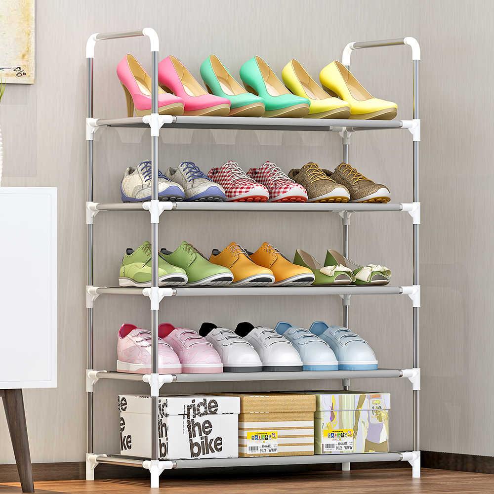 4 5 6 Tier Shoe Rack Shoe Tower Shelf Storage Organizer Cabinet Stackable Shelves Holds 18 Pairs Of Shoes Multicolor Shoe Racks Organizers Aliexpress