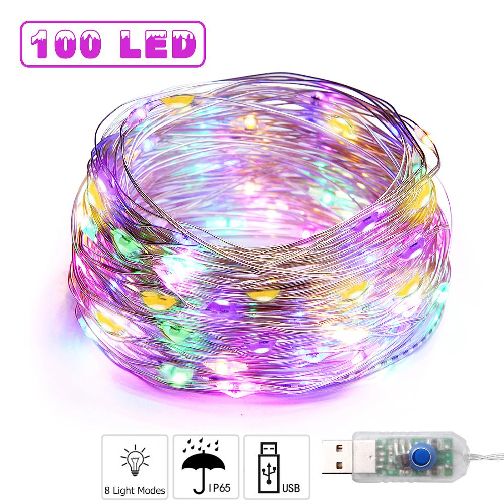 Permalink to 1m-10m USB LED Festoon String Light New Year's Street Garlands Outdoor Christmas Fairy Lights for Bedoom Window Wall Decoration
