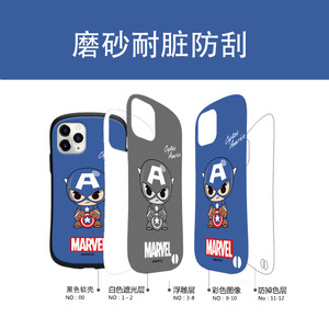 Image 4 - Marvel Certified for iPhone 6/6s/ Plus 7/8/ Plus X/XS/XR/XS Max 11/11 Pro 12/12min / 12Pro / 12proMax waist Phone Case