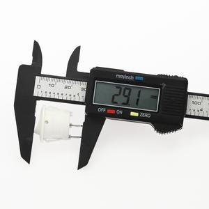 Image 5 - 100 pièces 20mm diamètre petits interrupteurs à bascule ronds noir Mini rond noir blanc rouge 2 broches interrupteur à bascule marche arrêt