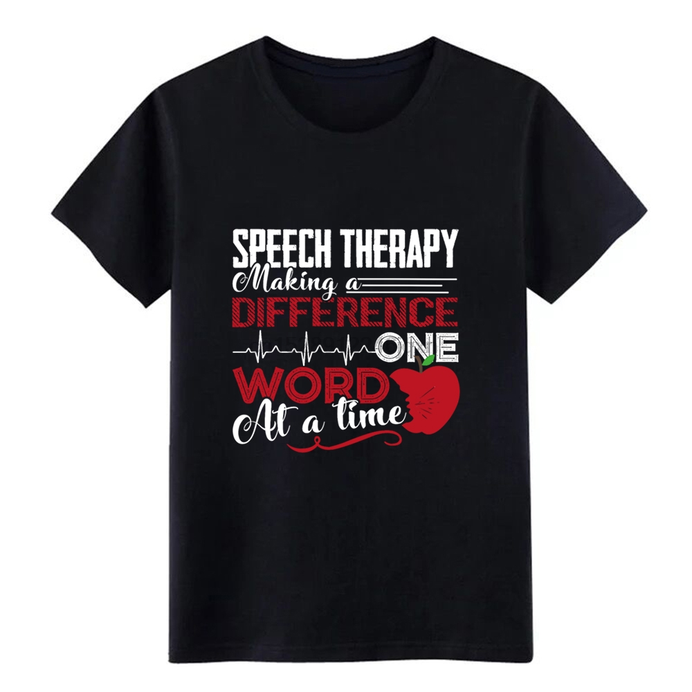 Mens Speech Therapy Shirt t shirt designer Short Sleeve S-3xl Standard Crazy Breathable Summer Style Pattern shirt(China)