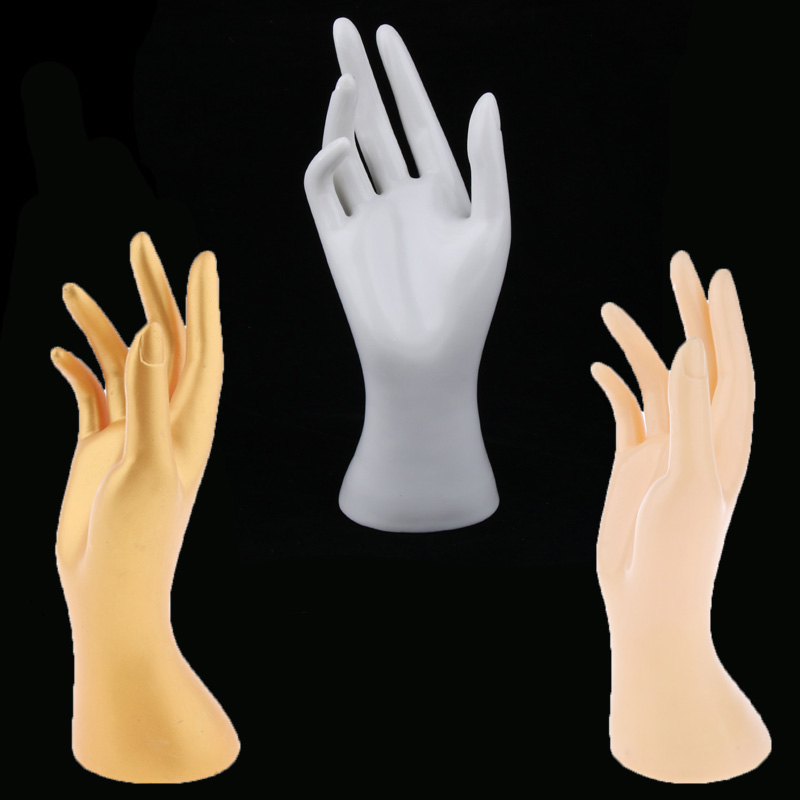 Hand Jewelry Bracelet Display Stand Ring Watch Gloves Display Model For Shopping Mall, Female Mannequin Jewelry Store And Home