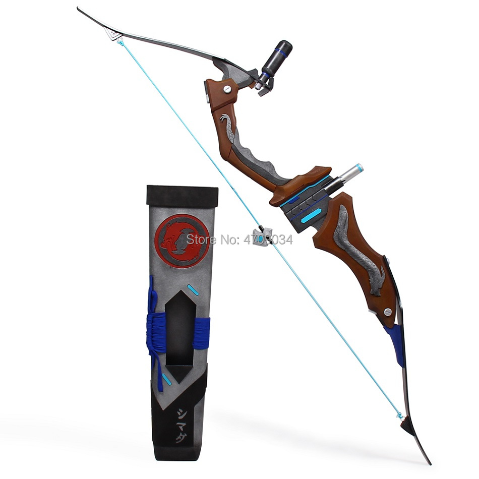Overwatch Hanzo Scion Weapon Cosplay Replica Bow Prop 3