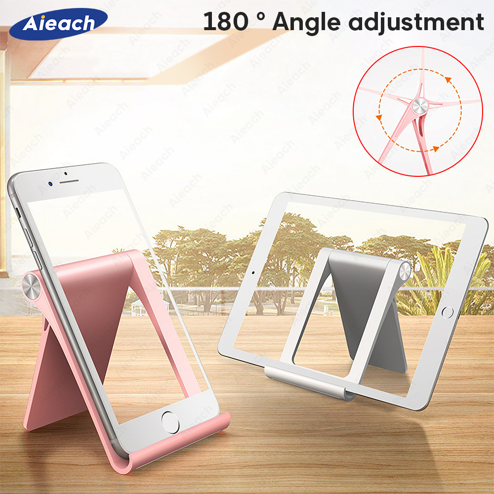 Aieach For Huawei Samsung Xiaomi Tablet Stand Holder 7.9 To 11 Inch Universal Adjustable Foldable Tablet Holder For IPad Stand