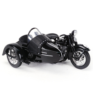 Image 1 - Maisto 1:18 1948 FL دراجة نارية sidecar دييكاست سبيكة نموذج دراجة نارية لعبة