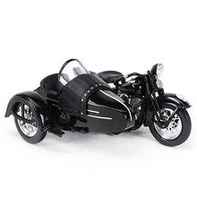 Maisto 1:18 1948 Fl Motorfiets Zijspan Diecast Legering Motorfiets Model Speelgoed