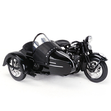Maisto sidecar de motocicleta, aleación de modelo de motocicleta, escala 1:18, 1948 FL