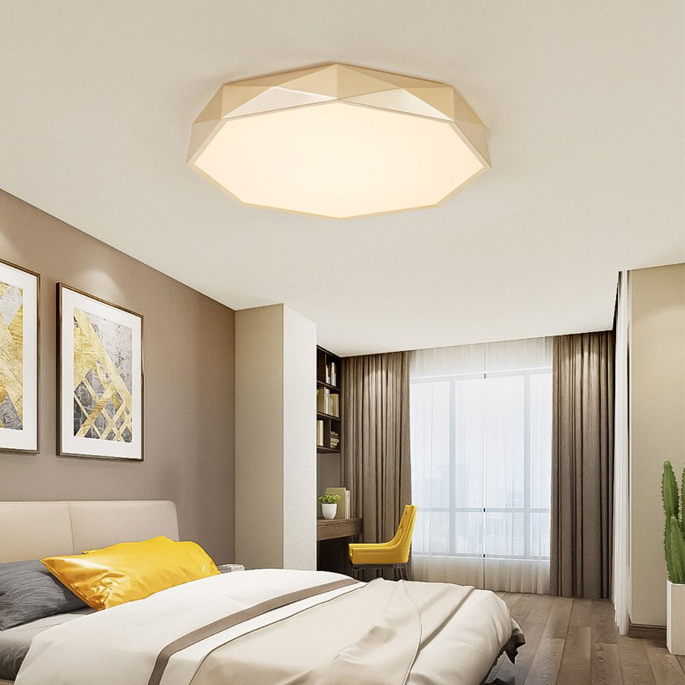 10 new Nordic LED Master bedroom ceiling light Simple Restaurant room  living room round ceiling light for Household