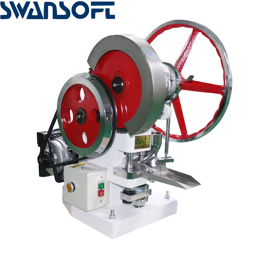 SWANSOFT High quality TDP-5 Single Punch Tablet/Pill Press Machine on sales 110V/220V image