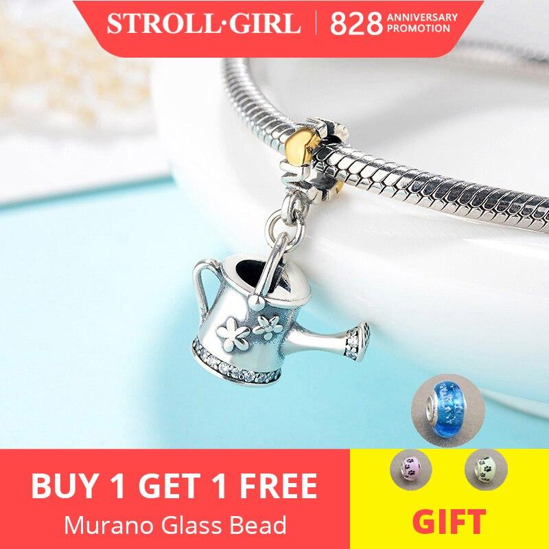 Strollgirl Charms-Beads Bracelet Original Pandora Jewelry-Making 925-Sterling-Silver
