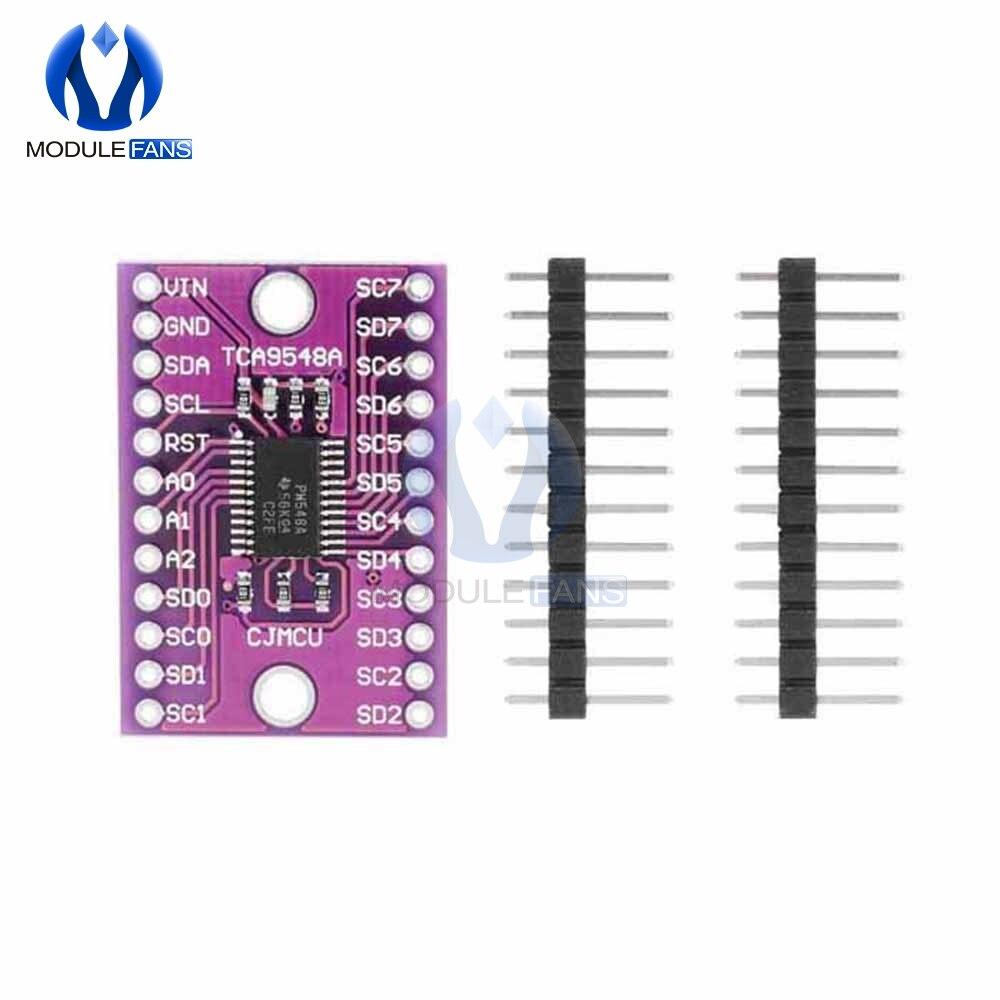 TCA9548A carte de capteur dextension multicanal 8 voies IIC I2C Module de commande de rupture de développement pour Arduino 3V 5V CJMCU 9548