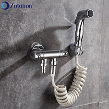 Faucet Sprayer Shower-Head Hand-Bidet Self-Cleaning Bathroom Portable Copper for F220