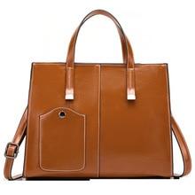 Luxury Handbags Women Bags Designer Vintage Tote Bag Ladies Leather Big Capacity Messenger Shoulder Bags Bolso Mujer 2020 C1415