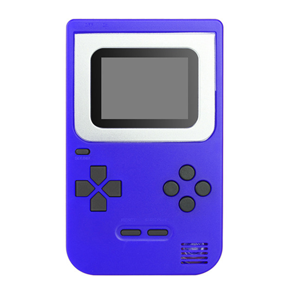 HKB-508 Retro Handheld Video Game Console Portable Game Player Gamepad Built-in 268 Classic Games with 2inch Screen Gifts for Kids