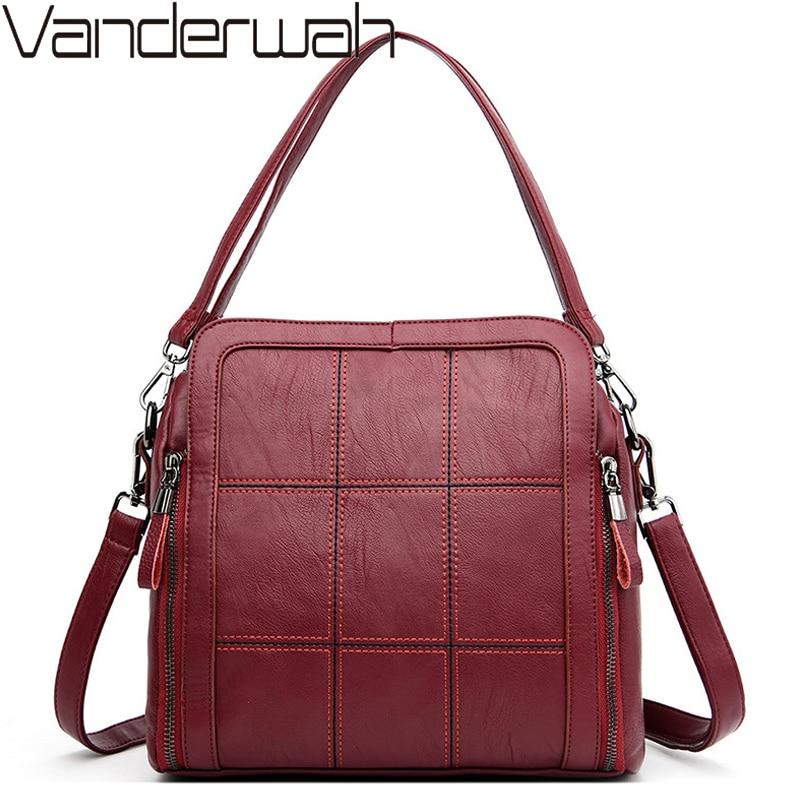 Big Capacity Luxury Handbags Women Bags Designer Crossbody Bags For Women Leather Shoulder Bag Casual Female Tote Bag Sac A Main
