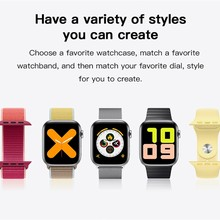 Blood-Pressure-Monitor Smart-Watch Toy Multifunctional X7 Full-Touch Fitness-Tracker