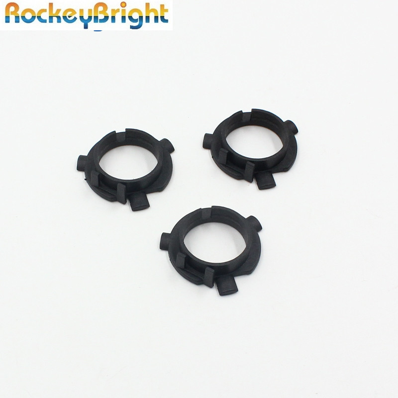 <font><b>LED</b></font> headlight Base <font><b>H7</b></font> <font><b>adapter</b></font> for Hyundai Veloster Santa Fe <font><b>H7</b></font> <font><b>LED</b></font> Bulb Holder Socket for Mitsubishi <font><b>Outlander</b></font> KIA K3 image