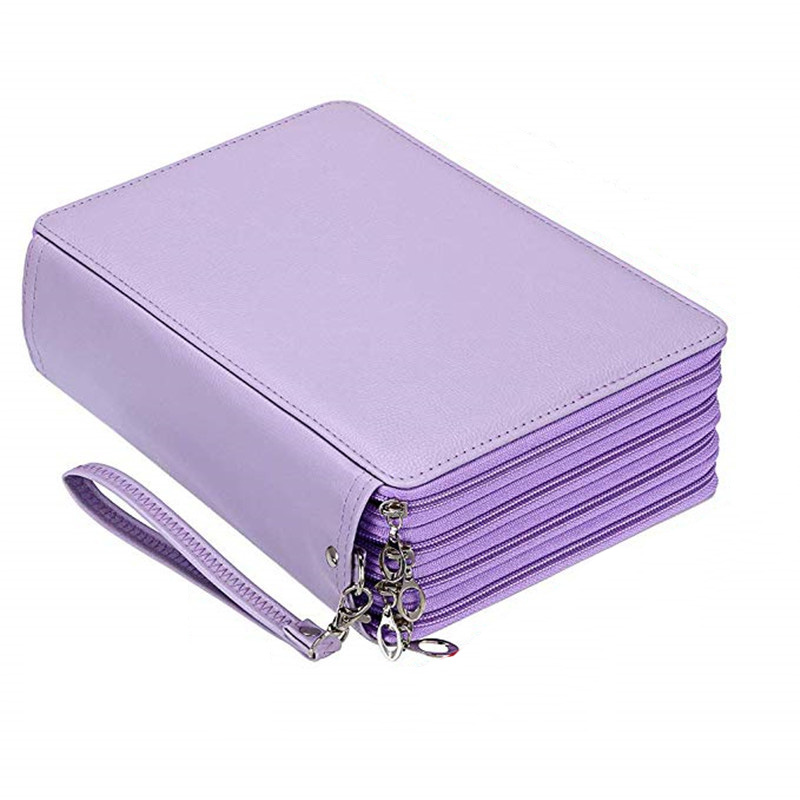 120/184/200 Holes School Pencil Case for Girls Boy Pencilcase Large Cartridge Pen Box Big Penal Stationery Bag Storage Kit Pouch