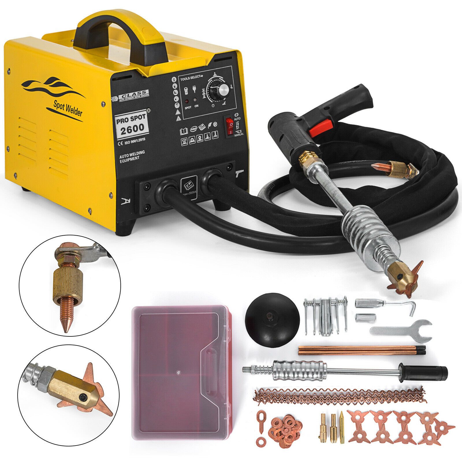 Induction heater 220V hot box repair 3500A GYS dent repair dent repair with time mode and energy mode