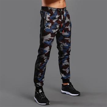Pantaloni da Jogging mimetici uomo Leggings sportivi  1