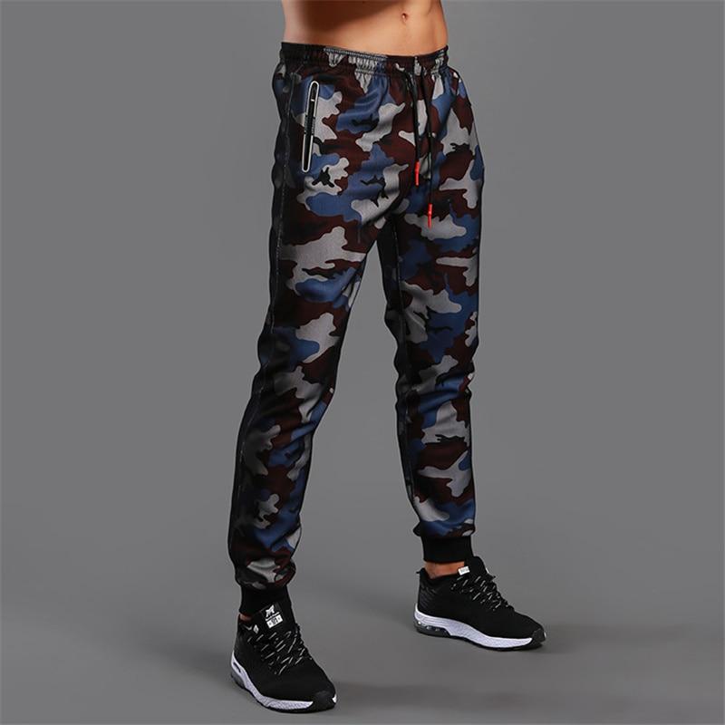 2020 Camouflage Jogging pantalon hommes Sport Leggings Fitness collants survêtement de gymnastique musculation pantalons de survêtement Sport course pantalon