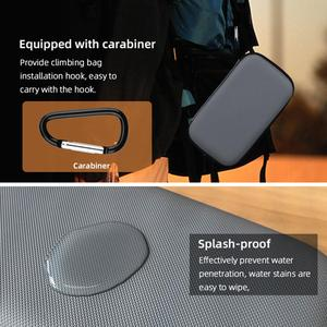 Image 5 - Hard Shell EVA Waterproof Portable Carrying Case Bag with Carabiner Shockproof Handheld Gimbal Camera Case Bag for DJI Pocket 2